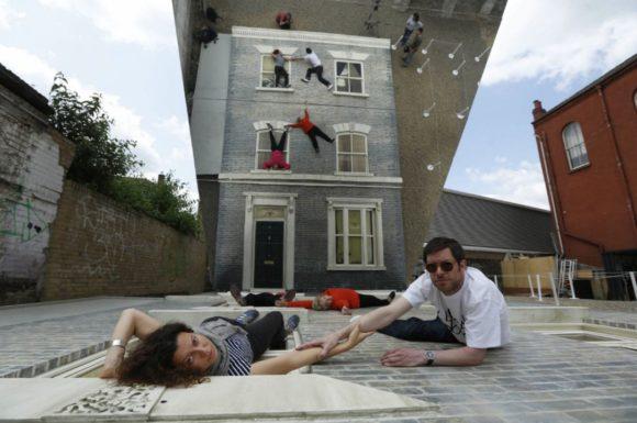 Optické ilúzie budov